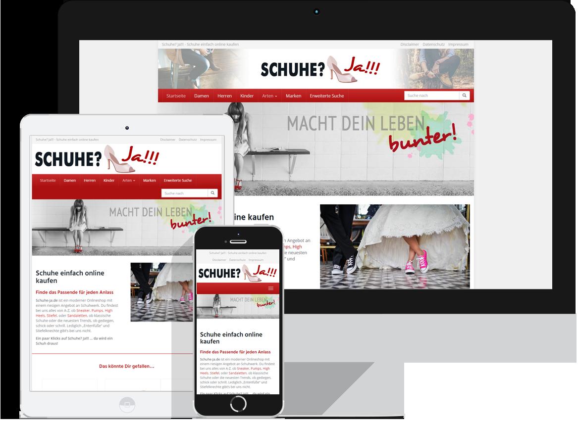 Schuhe-Ja.de - Schuhe einfach online kaufen